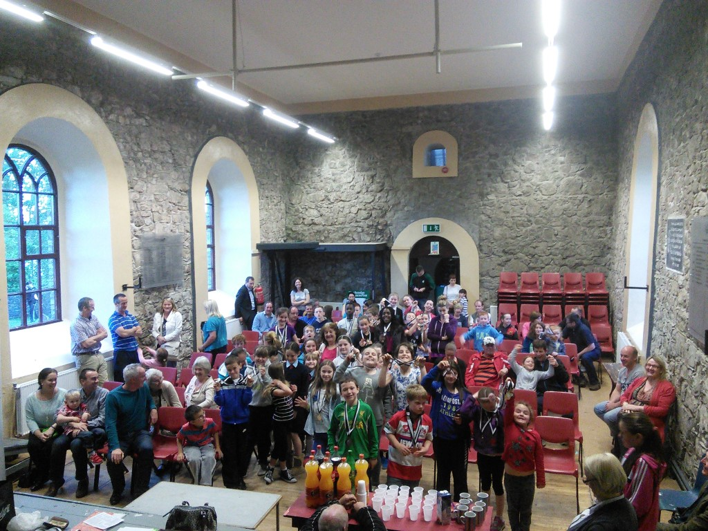 Clane and Rathcoffey Community Games Prize Winners 2014