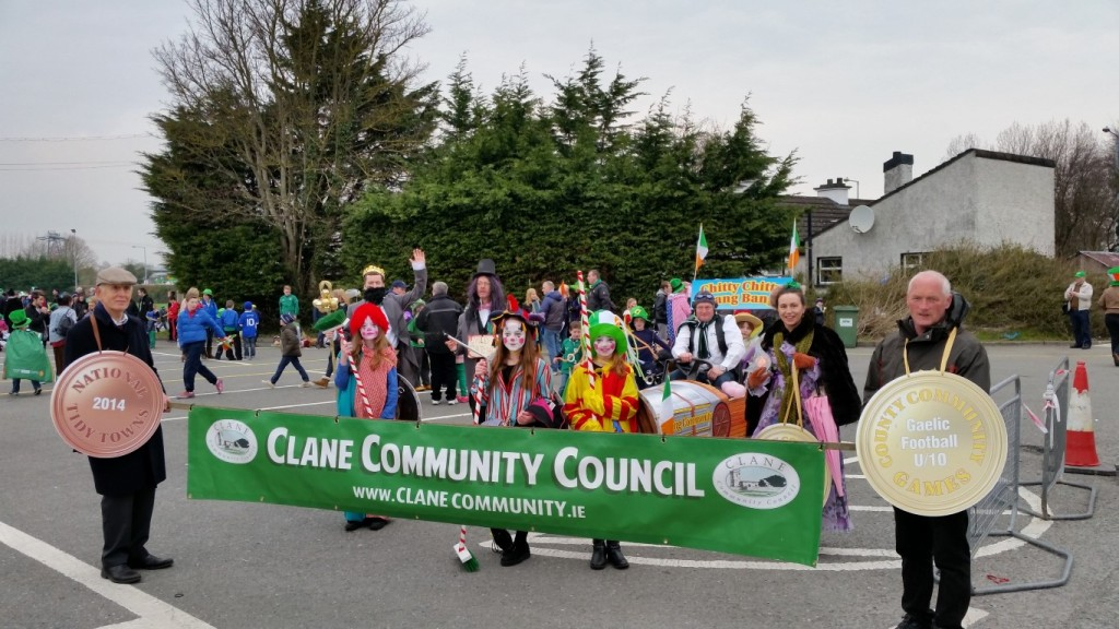 Clane Community Council Float St. Patrick's Day 2015