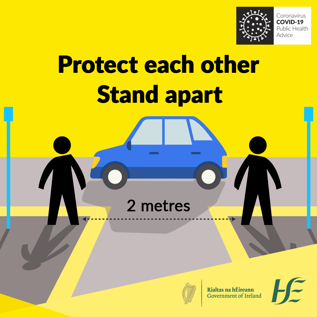 COVID 19 - Stand Apart