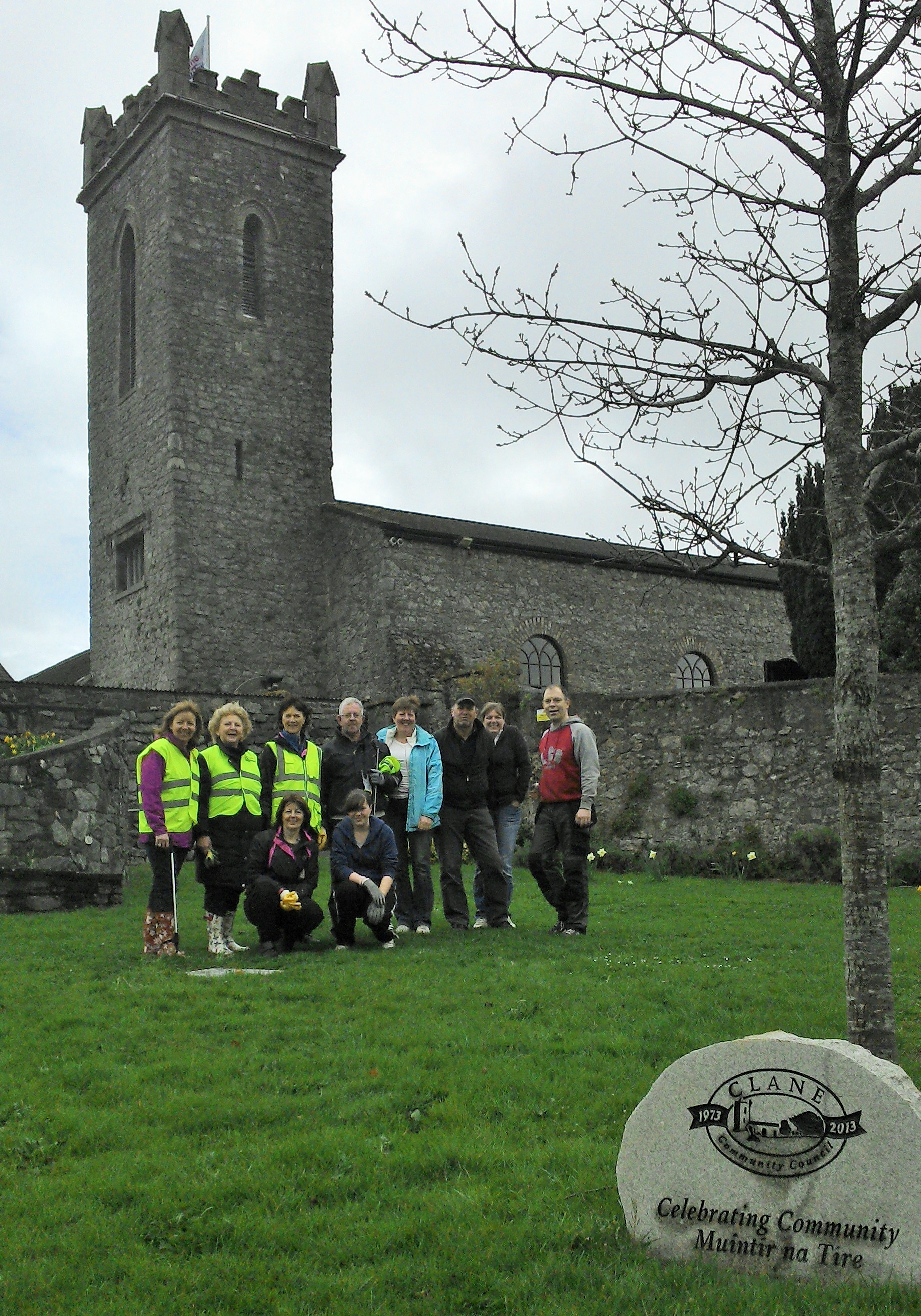 Some of the Spring Clean volunteers 2014
