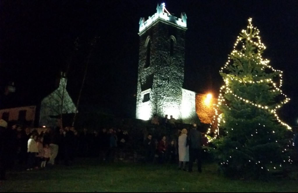 Christmas Light switch on 2015
