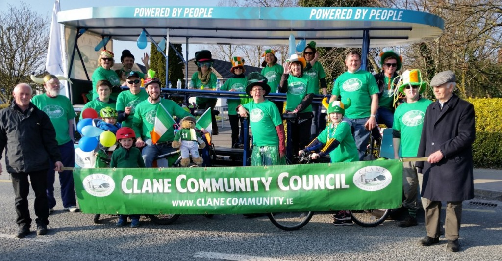 Happy Saint Patricks Day from all in Clane Community Council